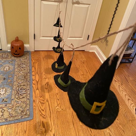 Witches Hats Halloween Garland